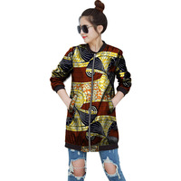 African Fashion Women Print African Personality Jacket Tailored Dashiki Clothes Ladies Coat Customized Pattern Africa Clothing
