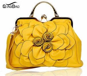 ФОТО QIAO BAO Women's Flower handbag summer fashion bags shoulder handbag women's lovely bags