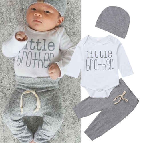 2019 Spring Easter New Born Baby Clothes Christmas Clothes Boy Little Brother's Rompers Kids Costume For Girl Infant Jumpsuit