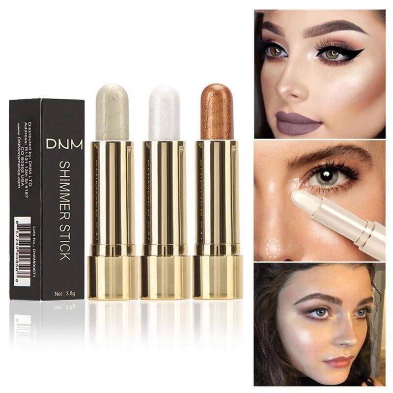 2019 3D Highlighter Contour Bronzer Pencil Brighten Skin Face Highlight Makeup in Bronzers Highlighters from Beauty Health