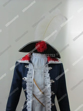 Free shipping!!!New Arrival Costumize Axis Powers Hetalia Prussia Cosplay Costume/Dress