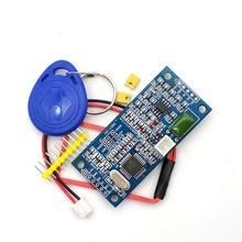 RFID 125KHz EM4100 اللاسلكية وحدة قراءة بطاقات ATMEGA8 TTL/يجاند 26/34 HZ 1050