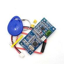 RFID 125KHz EM4100 אלחוטי כרטיס קורא מודול ATMEGA8 TTL/Wiegand 26/34 HZ 1050