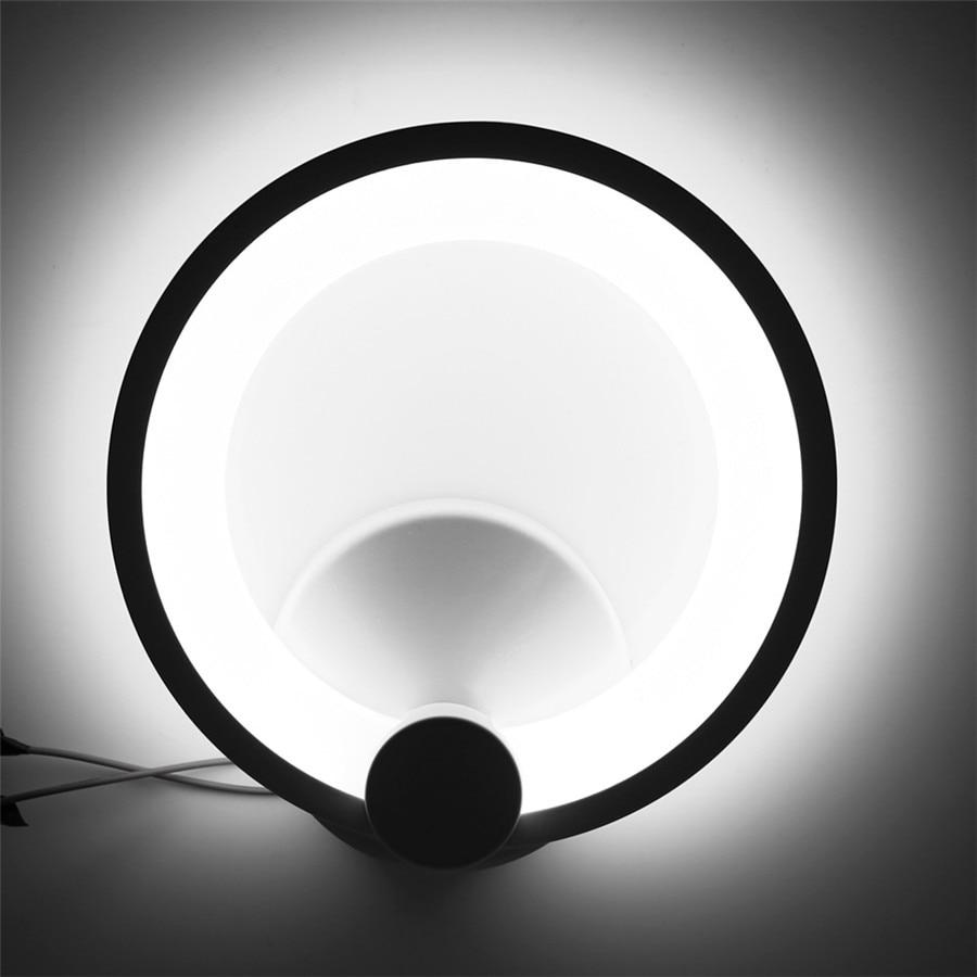 A parete HA CONDOTTO LA Lampada Da Parete 12 W 16 W Lampade In Alluminio + Acrilico AC85 ~ 265 V Rotondo Sconce per Interni Camera Da Letto Soggiorno Foyer