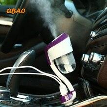 Автомобиль Увлажнитель Арома Диффузор Ароматерапия 12 В USB Порт 4 Цветов Автомобилей Туман Сделать Увлажнитель Диффузор Эфирное Масло Диффузор Для автомобиль
