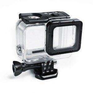 Image 2 - Suptig 50M Underwater Diving Waterproof Housing Case +Open back cover for GoPro Hero2018 Hero 7 Black for Go Pro HERO6 5 Camera
