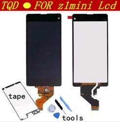 Ekran dla Sony Xperia Z1 Mini Compact D5503 M51w 4.3 cal wyświetlacz LCD Digitizer czujnik szklany montaż panelu darmowe narzędzia