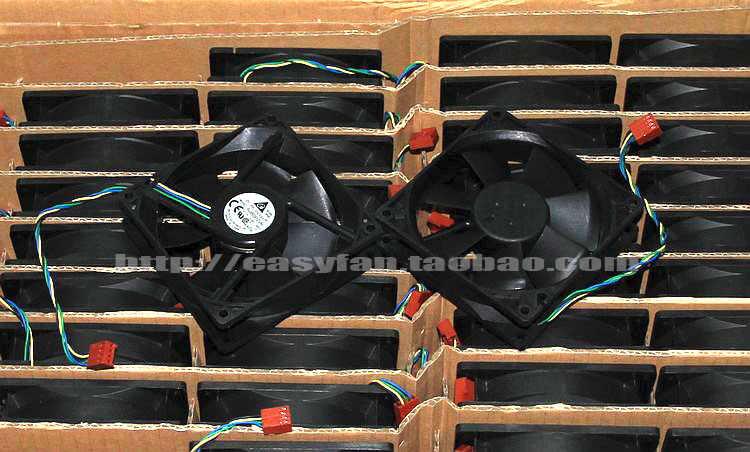 Dla delta AFB0912VH = AUB0912VH 9cm 90mm 90*90*25MM 9225 DC 12V 0.60A 4-pin pwm procesor komputera wentylatory chłodzące