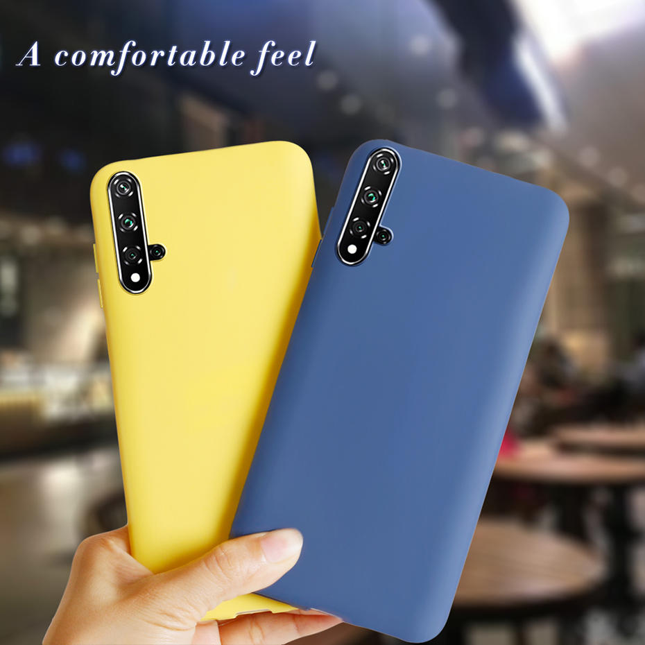 Case Soft Silicone Phone Cases For Huawei Honor