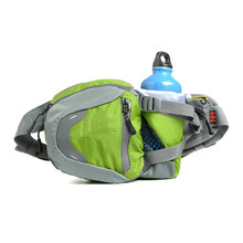 Outdoor Multifunction Sport Waist Bag 3L Oxford Running Fanny Pack with Bottle Holder Climbing Cycling Hiking Bag