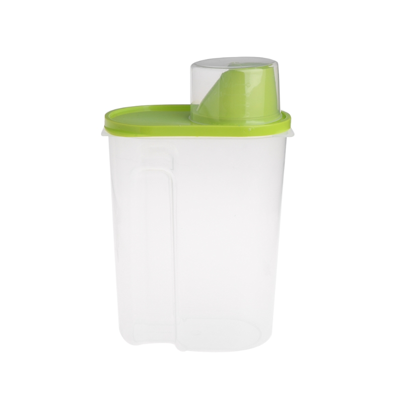 Hot Sale Plastic Pet Puppy Dog Food Storage Container Dry Food