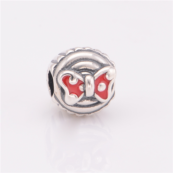 2015 New fine jewelry red Enamel bowknot brand charms 925-sterling-silver Jewelry making Fit brand Bracelet DIY new Beads DSN0222015 New fine jewelry red Enamel bowknot brand charms 925-sterling-silver Jewelry making Fit brand Bracelet DIY new Beads DSN022