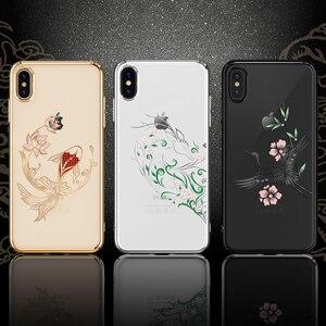 Image 1 - Kingxbar Diamond Cover Dành Cho iPhone X/ XS/ XS MAX Tôn Tạo Với Tinh Thể Từ SWAROVSKI Đính Kim Cương Giả Dành Cho iPhone XS/ MAX