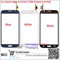 Первоначально Новая Для Samsung Galaxy Mega 5.8 I9150/Duos I9152 P709 Сенсорный Экран Планшета Черный/Белый/Синий Сенсорного экрана Панели