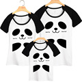 Matching Father Mother Daughter Son Clothes Panda T-shirt Family Look Family Matching Clothes Parent-child Outfit  Ma e Filha