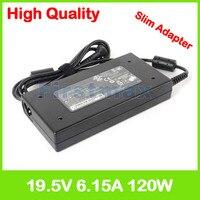 Slim laptop charger 19.5V 6.15A 19V 6.32A ac power adapter for Gigabyte Sabre 15 15 G8 15 K8 17 17 G8 17 K8