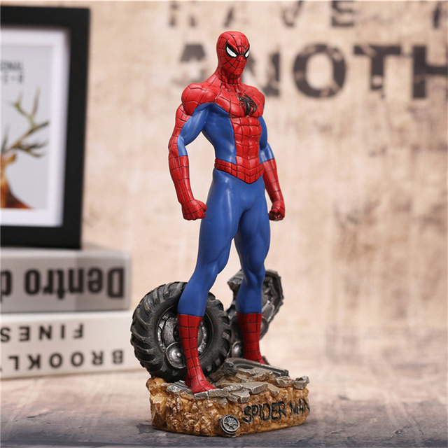30CM Super Hero Spiderman Action Figures Toys Brinquedos Anime Spider Man Collectible Model Boys Toy As Christmas Gift BN023 30cm super hero spiderman action figures toys brinquedos anime spider man collectible model boys toy as christmas gift bn023
