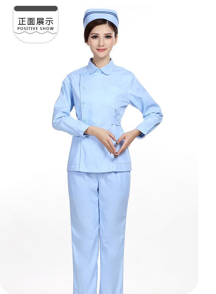 2018 autumn medical uniform oem scrubs set women scrubs for Spa uniform cotton