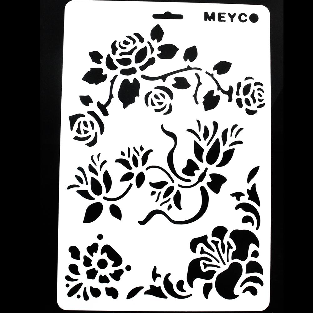 Plantillas para pintar flores fabulous dibujos de flores for Plantillas para pintar paredes