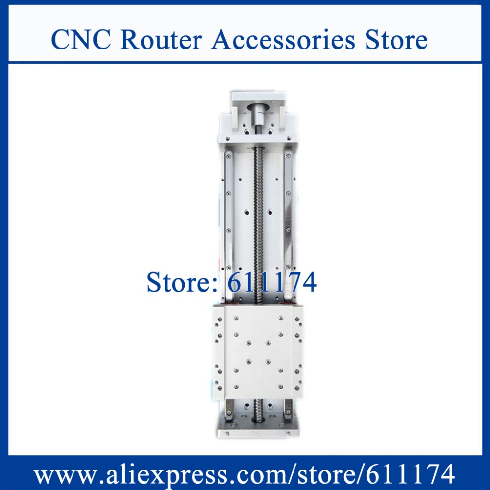 High Precision CNC Sliding Table Effective Stroke 240mm Guide Rail HGR15 CNC Z Axis Linear Motion Sliding Table