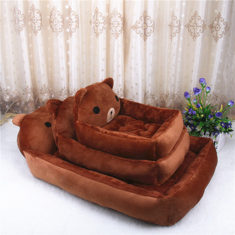PP Cotton Kennels Cat House Dog Pad Teddy Mats Big Blanket Supplies Cute Pet Dog Bed Mats Animal Cartoon Shaped Pet Sofa Kennels 9