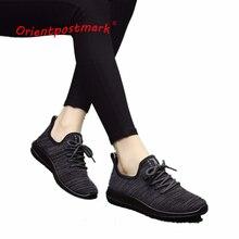 Women Casual Sneakers Shoes Breathable Handmade Sneaker Comfortable LightWeight Walking Female Flats OrientPostMark