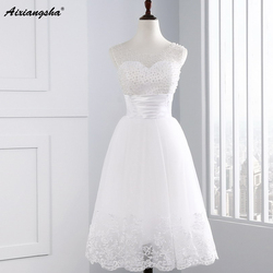 Elegant pearl white short homecoming dress 2017 scoop sleeveless open back mini prom party dress vestido.jpg 250x250