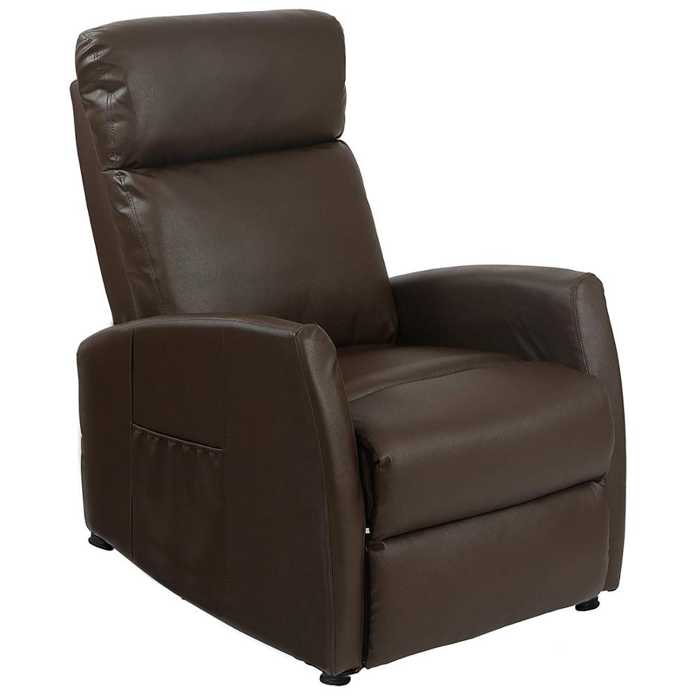 Cecotec Relax Armchair Massage Compact Push Back Chocolate Brown