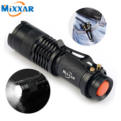 3000LM Led Flashlights Portable LED Camping Hunting Lamp Torch Lights Night Light Lantern Military Police Flashlight Torch