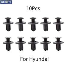Sujetadores de coche para Hyundai Tucson, Elantra, Sonata, solaris, Santa Fe, Accent, i30, i20, Clips de fijación de guardabarros de parachoques, 10 Uds.