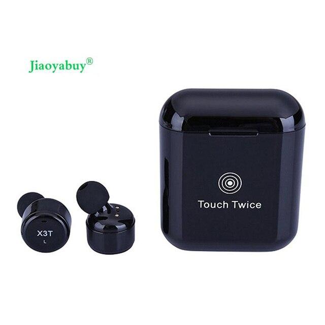 c21387d478d X3T Mini Invisible Twins True Wireless Bluetooth Headset CSR 4.2 HIFI  Stereo Cordless Bluetooth Earphones Mic