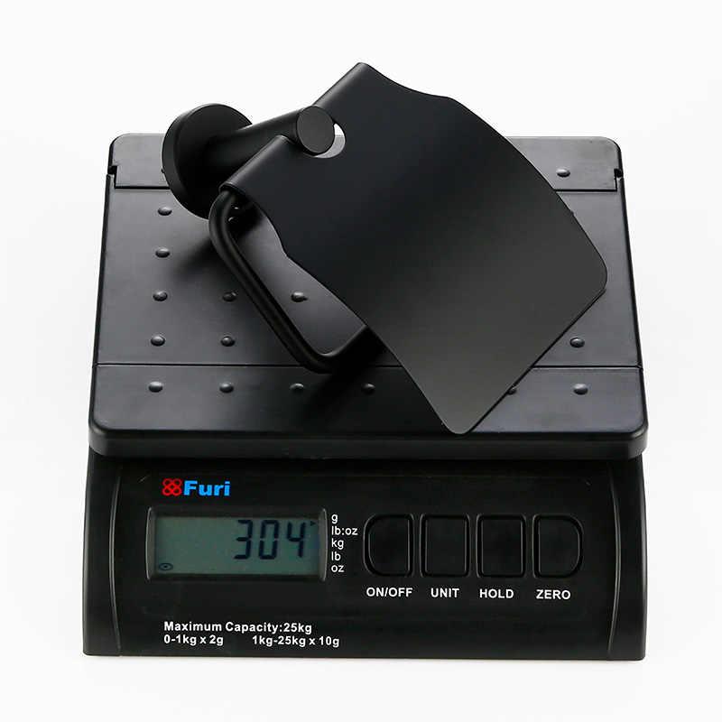 SMESITELI 304 Edelstahl Bad Hardware Sets Schwarz Robe Haken Handtuch Halter Bar Regal Papier Halter Badezimmer Zubehör Kit