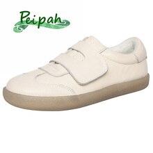 Peipah Mùa Xuân Da Bò Nữ Casual Giày Zapatos Mujer Dành Cho Nữ Zapatillas Deportivas Mujer Nữ Giày Đi Bộ