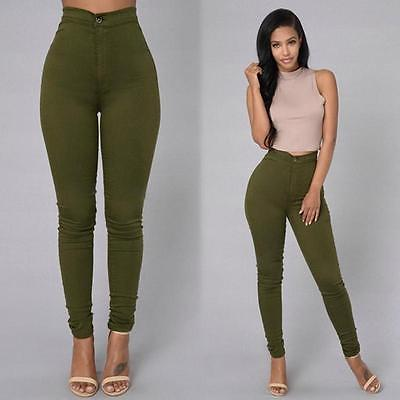Women Pencil Denim Jeans Stretch Sexy Skinny Pants High waist Ankle Length 5 Colors Jeans s-xxl rosicil new women jeans low waist stretch ankle length slim pencil pants fashion female jeans plus size jeans femme 2017 tsl049 page 8