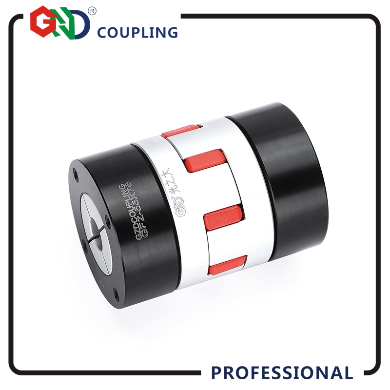 GND high-quality jaw coupling OD 40x55mm aluminum alloy plum jaw locking CNC 6mm 8mm diaphragm sleeve flexible shaft couples цена