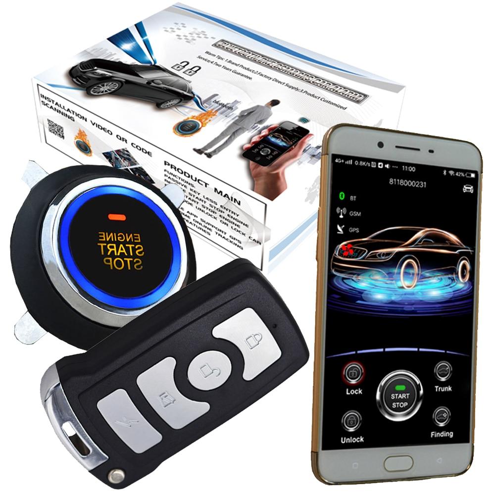 Cardot automobile gsm alarme de voiture et sécurité électronique de véhicule gps en ligne suivi en temps réel entrée sans clé démarrage de voiture arrêt moteur