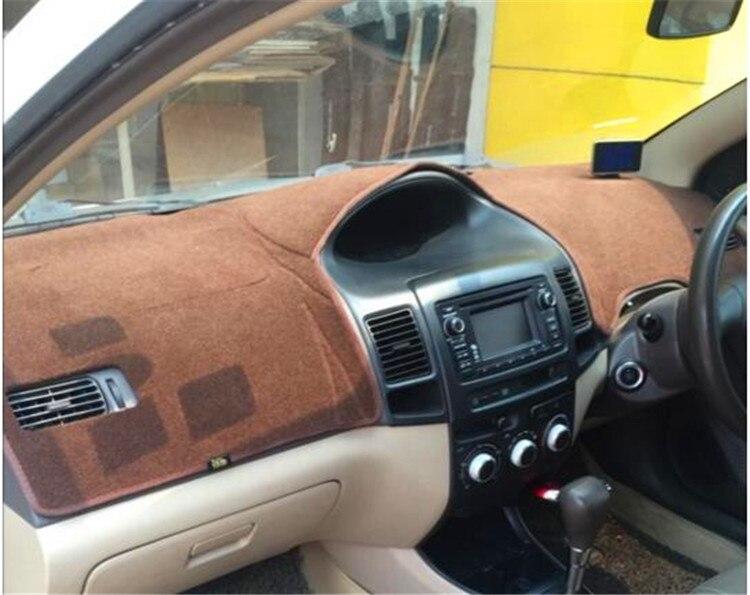цена на dashmats car-styling accessories dashboard cover for toyota VIOS Yaris Sedan belta 2002 2003 2004 2005 2006 2007 rhd