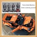 Envío Gratis 2704 UNIDS LEPIN 20001 serie técnica 911 GT3 RS Kits de Edificio Modelo Bloques Ladrillos Compatible Con 42056 niño regalo