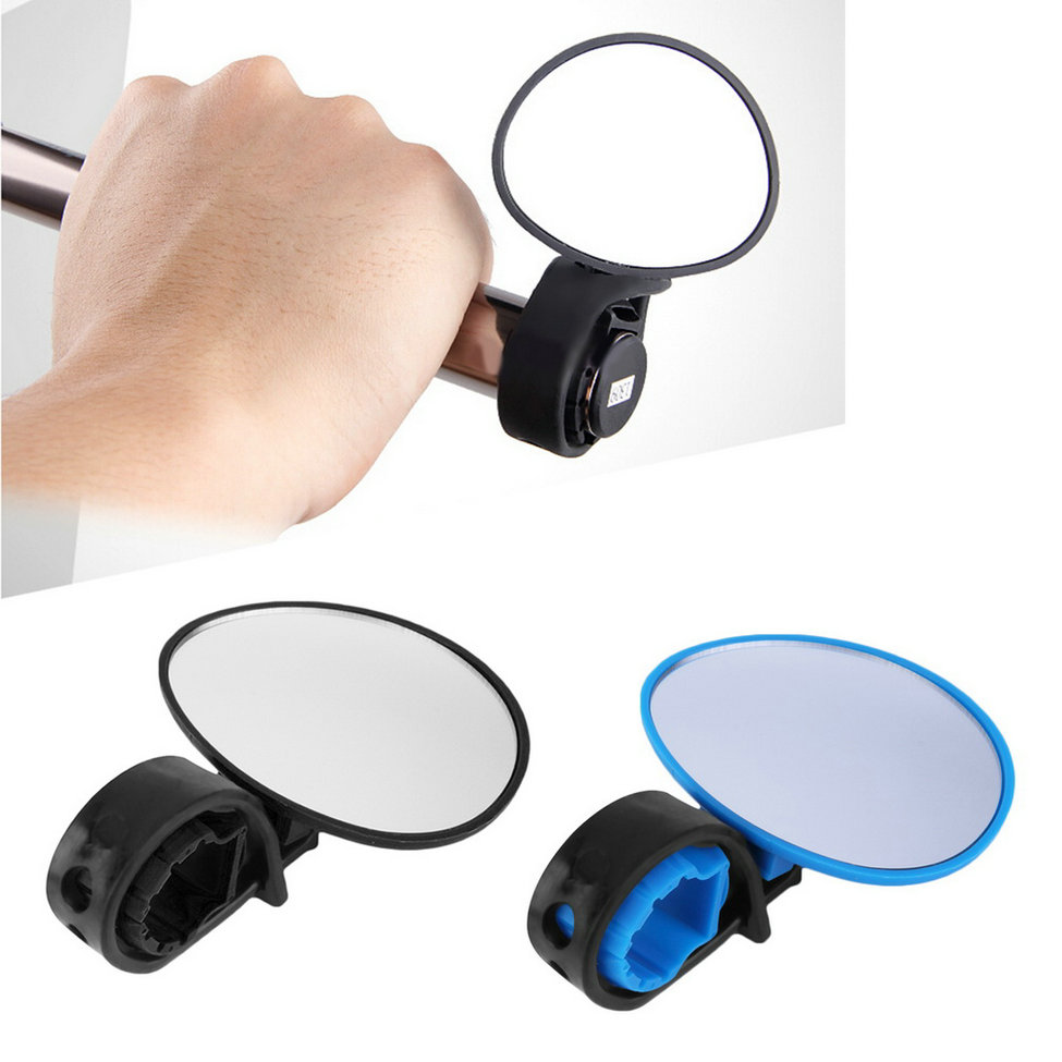 Flexible Plastic Rearview Mirror Bicycle Handlebar Adjustable Universal