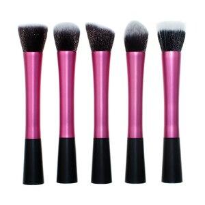 Image 2 - 1 small waist makeup brush small waist long aluminum tube 1 sets makeup brush single makeup brush beauty makeup tools