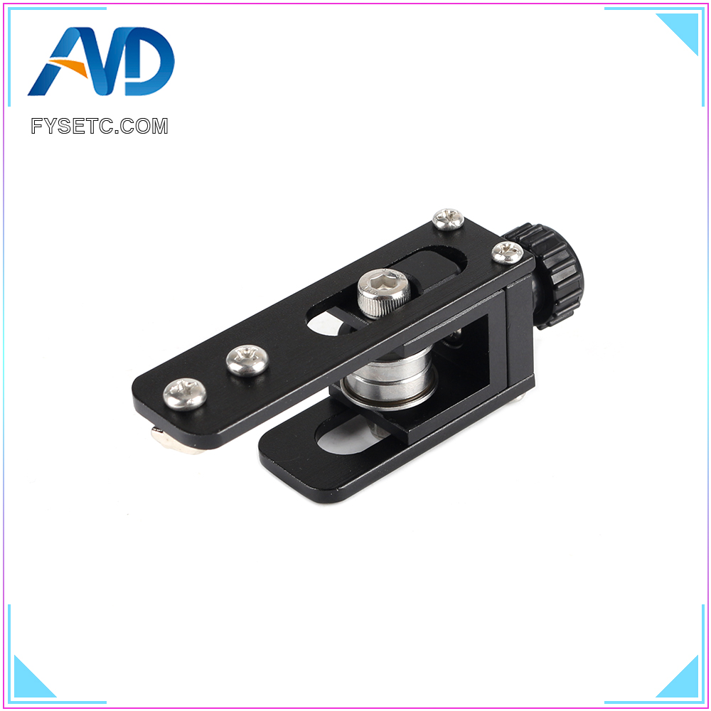 Upgrade 2020 Profile X-axis Synchronous Belt Stretch Straighten Tensioner For Creality CR-10 CR-10S Ender-3 3D Printer Parts