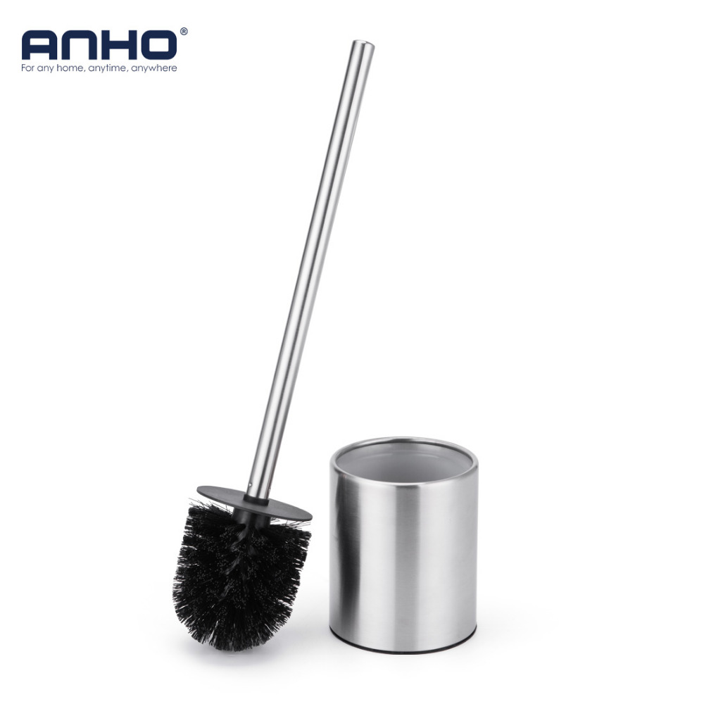 ANHO Strong Decontamination Toilet Brush Set Stainless Steel ...
