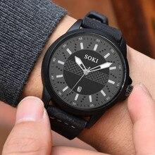 Новый Бизнес Пара Мода Для мужчин часы кварцевые Круглый наручные часы бренд класса люкс Relogio Masculino Мода Saat подарок