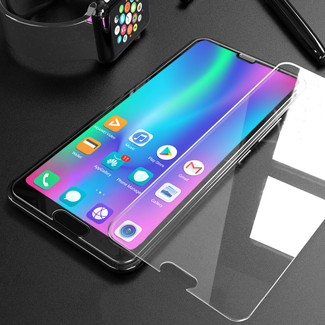 4pcs/Lot 9H Tempered Glass For Huawei P30 P20 Pro P10 P9 P8 Lite Plus 2017 2015 Explosion Proof Screen Protector Film