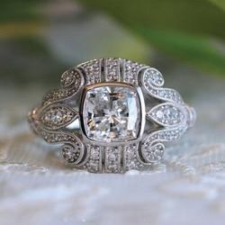 925 Anillos gümüş klasik çiçek kadın kübik zirkonya taş yüzük benzersiz desen takı alyanslar erkekler kadınlar için hediyeler