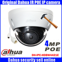DHI IPC HDBW4421E DAHUA HD Night Vision Security Camera IPC HDBW4421E 4MP IR Mini Dome Network