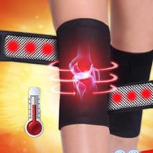 1 pc Dukungan Lutut Brace sepotong Massager Terapi Magnet Spontan Pemanasan Sabuk produk perawatan kesehatan A4