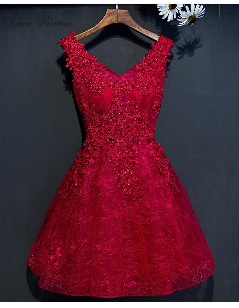 Evening dress 2017 black short design the banquet dress one piece dress V neck plus size women short evening dresses