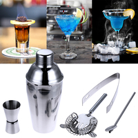 550 ml Edelstahl Cocktail Shaker Cocktail Mixer Wein Martini Trinken Boston Stil Shaker Für Party Bar Tool