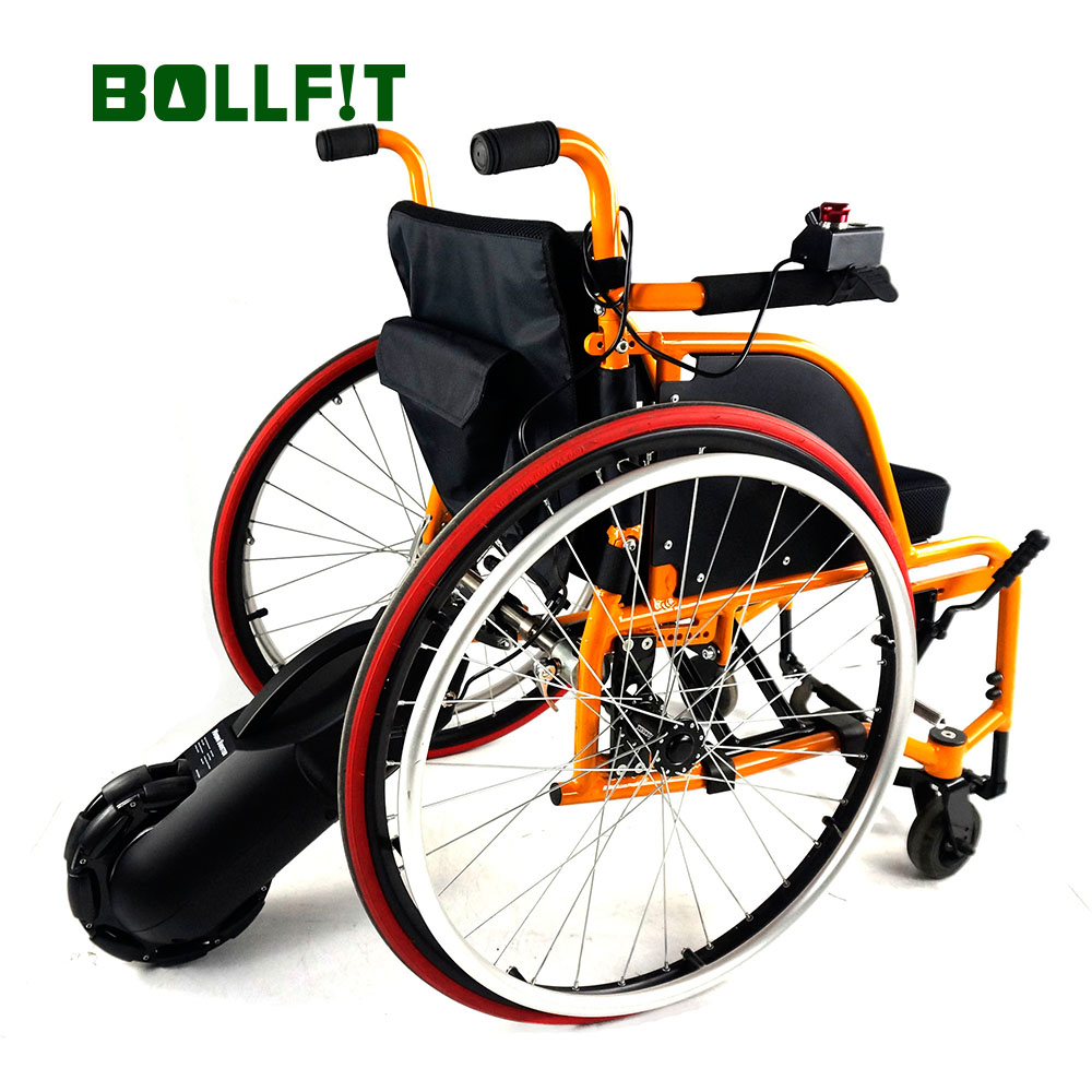 Bollfit Electric 24V 250W 8 Inch font b Wheelchair b font Motor Tractor Assistant Assit Wheel